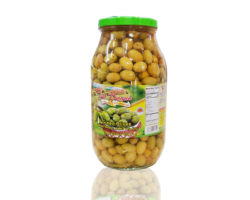 AL DAYAA GREEN OLIVES 3000GM