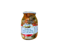 BELLA CONTADINA PICKLED IN SWEET AND SOUR 600GM
