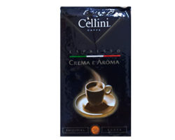 Cellini Coffee Espreso Crema e Aroma 250GM
