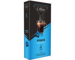 Cellini Vivace Espresso 10 Capsules Compatible with all Nespresso machines (Italy)