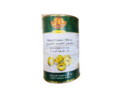 WAFEER SLICED GREEN OLIVES 4200GM