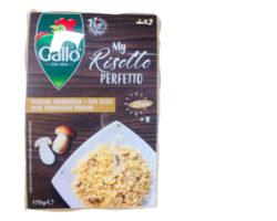 GALLO RISOTTO PORCINI MUSHROOM 175GM