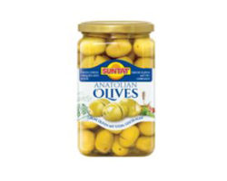 BAKTAT ANATOLIAN OLIVES CRACKED WITH STONE 820G