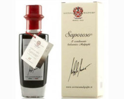 Acetaia Malpighi SAPOROSO CONDIMENTO BALSAMICO MALPIGHI RED 100ML