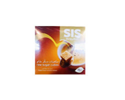 SIS RAW SUGAR CUBES BROWN 454g