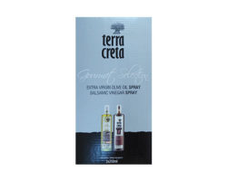 TERRA CRETA EXTRA VIRGIN OLIVE OIL SPRAY 250ML & BALSAMIC VINEGAR SPRAY 250ML