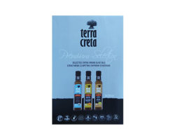 TERRA CRETA SELECTED EXTRA VIRGIN OLIVE OILS 3X250ML