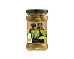 TERRA CRETA GREEN OLIVES 250GM