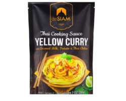 DESIAM YELLOW THAI CURRI PASTE WITH LEMONGRASS 70GM