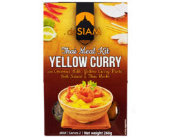 DESIAM YELLOW THAI CURRY KIT 260GM