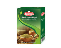 DURRA GROUNDED GREEN FREEKEH 450GM