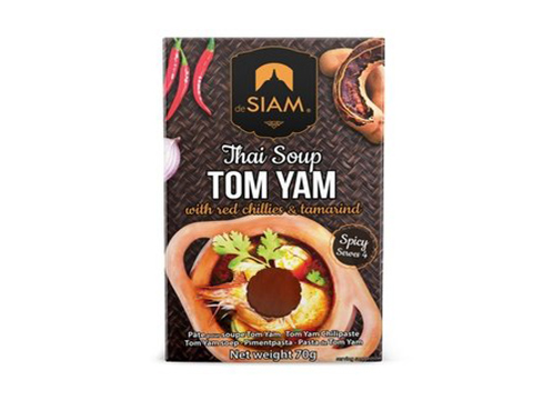 DESIAM TOM YAM WITH RED CHILLI AND TAMARIND 70GM