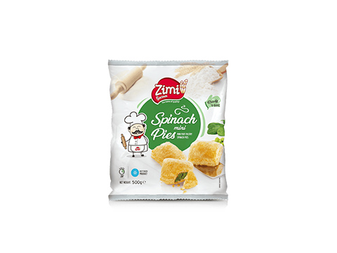 ZIMI SPINACH MINI PIES 500GM