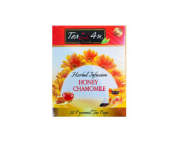 Tea 4U Honey And Chamomile 20Pyramid Tea Bag