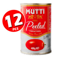 Mutti Peeled Tomatoes 400g X 12pcs