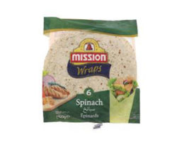 Mission Tortillas Spinach 420gX2 (Spain)
