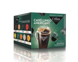 Cellini Caffe Lungo Americano 10 Capsules Compatible With Nescafè® Dolce Gusto Machines Italy