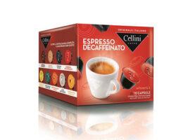 Cellini Espresso Decaffeinato 10 Capsules – compatible with Nescafè® Dolce Gusto® machines (Italy)