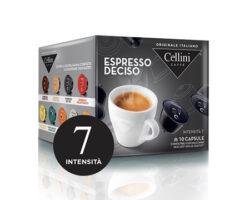 Cellini Espresso Deciso 10 Capsules – compatible with Nescafè® Dolce Gusto® machines (Italy)