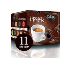 Cellini Espresso Ristretto 10 Capsules – compatible with Nescafè® Dolce Gusto machines (Italy)