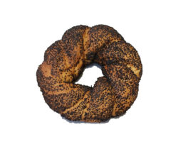 Simit with Black Seeds Large