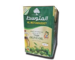 Al Motawasset Virgin Olive Oil First Cold Pressed 16ltr
