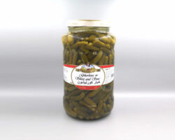 Bella Contadina Gherkins in Sweet And Sour 1800 g