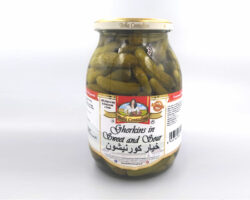 Bella Contadina Gherkins In Sweet And Sour 600G
