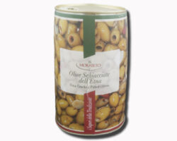 Morabito Etna Cracked Pitted Olives 2300gm