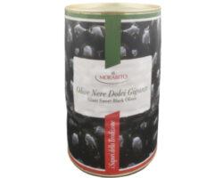 Morabito Giant Sweet Black Olives 2000gm