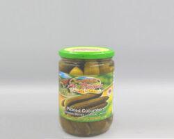 Al Dayaa Pickled Cucumber 660gm