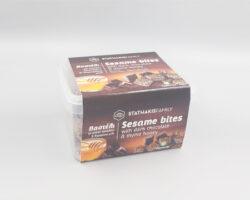 Stathakis Family Sesame Bites with Dark Chocolate and Honey 200gm