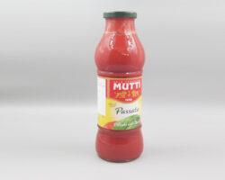 Mutti Passata Delicate With Basil 700 Gm