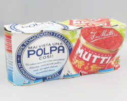 Mutti Polpa Finely Chopped Tomatoes 400 Gm 3 Pieces