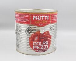 Mutti Tomato Pulp Pieces 2500 Gm